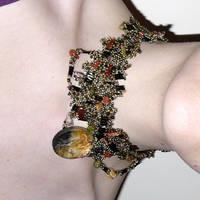 Earth Goddess Necklace by KarenElizabeth