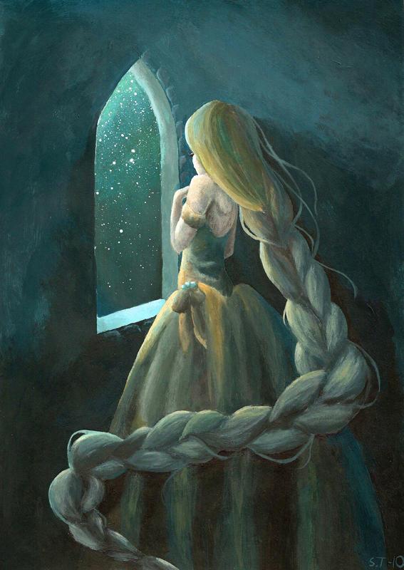 Rapunzel by NettoSanne