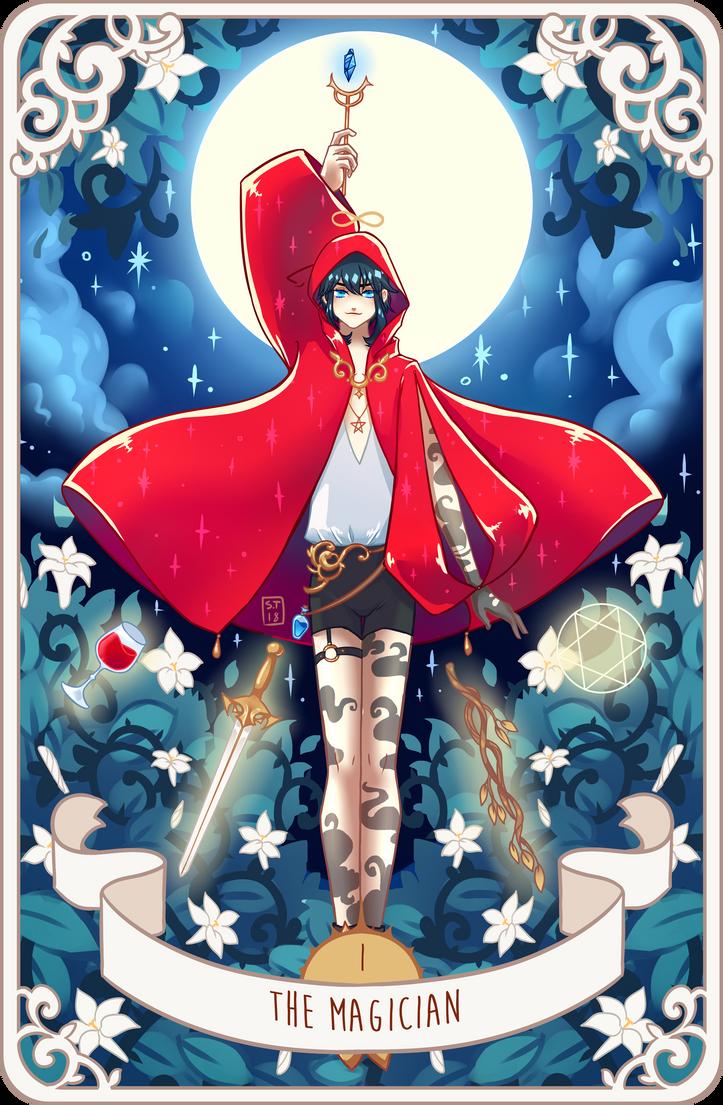 Tarot: I The Magician by NettoSanne