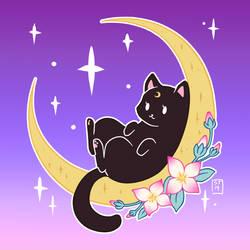 [Magic Moon Week] 1. Moon by NettoSanne