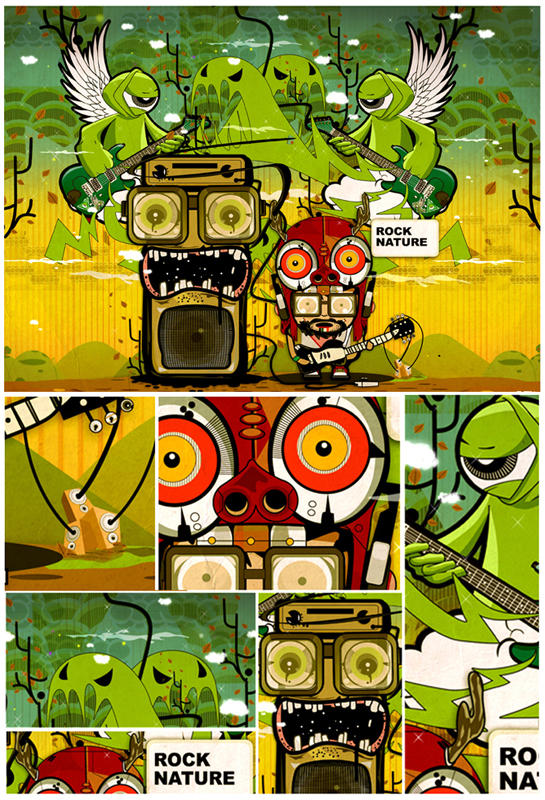 music battle colabs by RidiculousArts