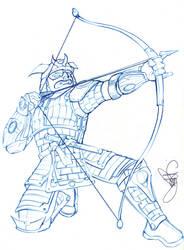 Samurai Bowman by dannyboy127