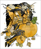 :: hallow's fae :: COLOURED by nollie91