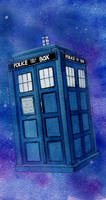 TARDIS by weirdperson