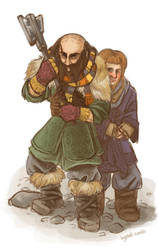 Don't fuck with Dwalin by weirdperson