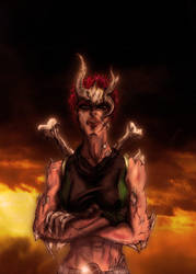X-Men : Marrow by thegruffman