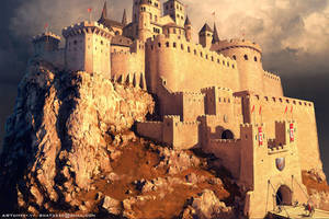 Templar castle by Sviatoslav-SciFi