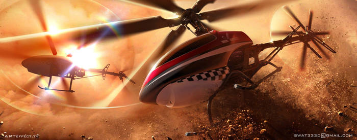 Helicopters by Sviatoslav-SciFi