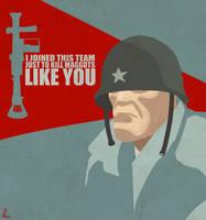 TF2 Soldier by KinkySkull