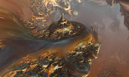 Celtic Pagoda by pupukuusikko