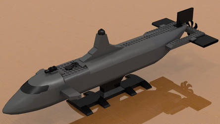 Dnomyar Shark Class Submersible Vehicle Prototype by Seluryar