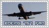 Boeing 757 Fan Stamp by Seluryar