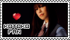 Kotoko Fan Stamp by Seluryar