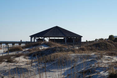 Tybee Pavilion by LaughingBudda