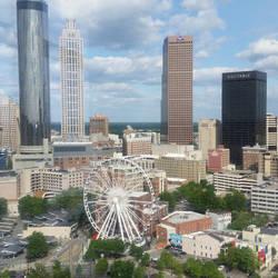 Atlanta Skyline by LaughingBudda