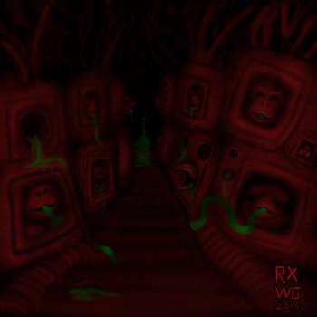 Hypnagogic Hell - fleshface cubes by raptonx