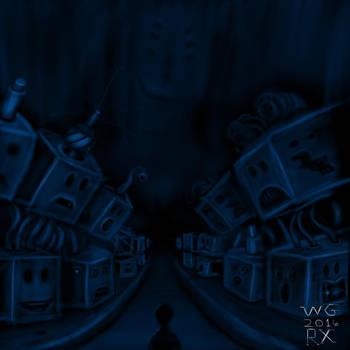 Hypnogogic Hell - A Treacherous Path by raptonx
