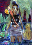 Tiana Raider by mchemfan