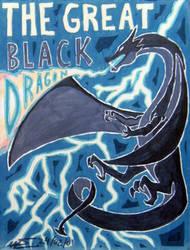 The Great Black Dragon by waldyrious
