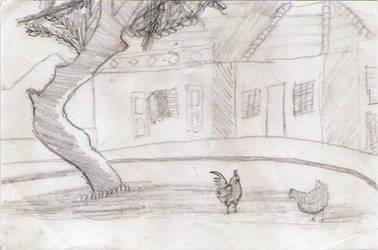 Chicken by waldyrious