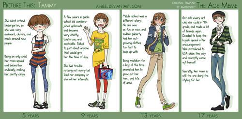 PT - Tammy Age Meme by Beedalee-Art