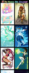 Ai-Bee's 30 Day Magical Girl Challenge by Beedalee-Art