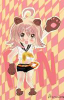 Rin kagamine bear by Okamichocolate