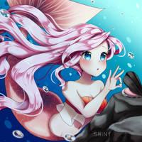 Mermaid Chores by Shiny-Desu
