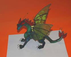 glass dragon by toroj