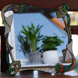 lustro secesyjne, mirror by toroj