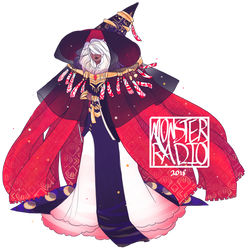 Traveling Witch [DESIGN TRADE] by MonsterRadio