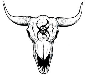 Kyohazard skull by Kyohazard
