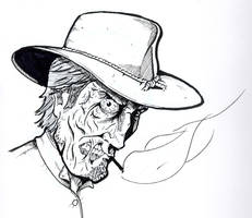 Jonah Hex Sketch by Kyohazard