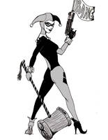 Harley Black and White by Kyohazard