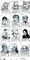 c4 sketch cards by Kyohazard