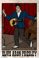 Elvis poster by Kyohazard