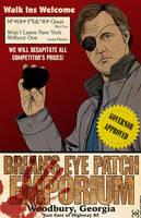 Brian's Eye Patch Emporium by Kyohazard