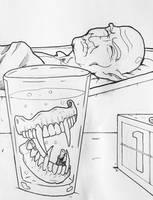 Drawlloween/INKtober 2015 - Day 4: Vampire by Kyohazard