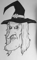 Drawlloween Day 27: Witch by Kyohazard