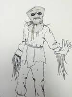 Drawlloween Day 29: Scarecrow by Kyohazard