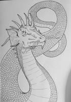 Drawlloween Day 31: Dragon by Kyohazard