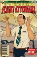 That funny flight attendant! by Kyohazard