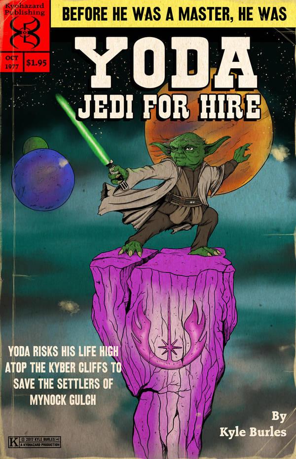 Yoda Jedi for hire by Kyohazard