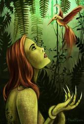 lizard woman o.2 by Meiverin