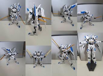 Gunpla showcase: ASW-G-01 Gundam Bael by MidnightDJ-SK