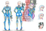 Character highlight: Agent Yue by MidnightDJ-SK