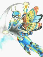Character highlight: ZX-125 'Morpho' by MidnightDJ-SK