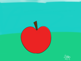 Just an Apple by Edwars1999