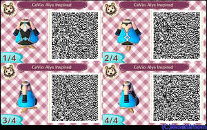 [OutDated]-Qr Code- Alys Inspired Dress by MaelStrhom