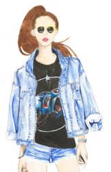 jean jacket by ondine25